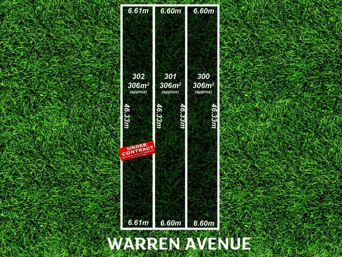 Lot 300, 301 & 302/ Warren Avenue Blair Athol, SA 5084