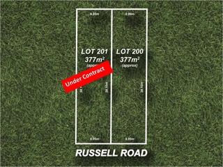 Lot 200 & 201/22 Russell Road Athelstone , SA, 5076