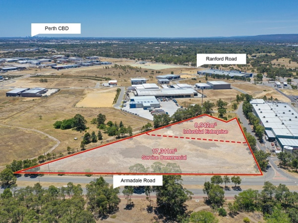 Proposed Lot 1016/Armadale Road and Pr 1017 Brigade Road Forrestdale, WA 6112