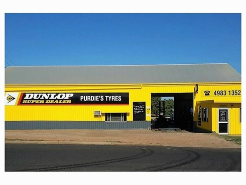 - Purdie's Tyres Clermont, QLD 4721