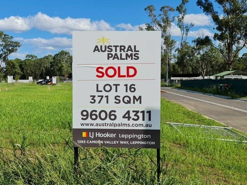 Lot 16 Eighth Avenue Austral, NSW 2179