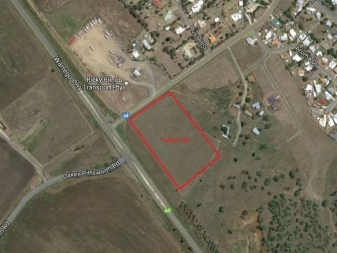 - Warrego Hwy & Oakey Pittsworth Rd Corner Oakey, QLD 4401