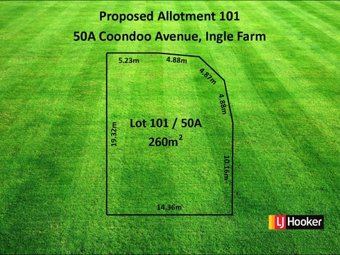 Lot Proposed 101/50A Coondoo Avenue Ingle Farm, SA 5098