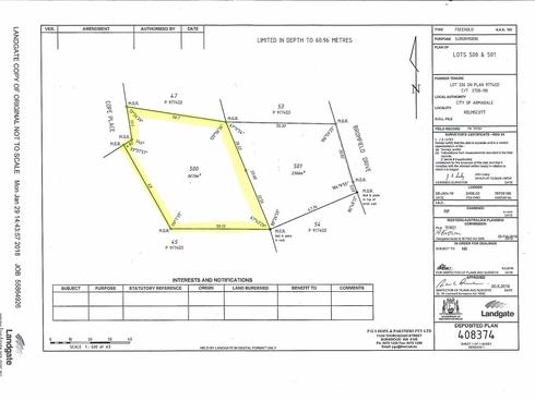 Lot 500 8 Cope Place Kelmscott, WA 6111