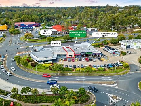 Shop 4/111-121 Grand Plaza Drive Browns Plains, QLD 4118