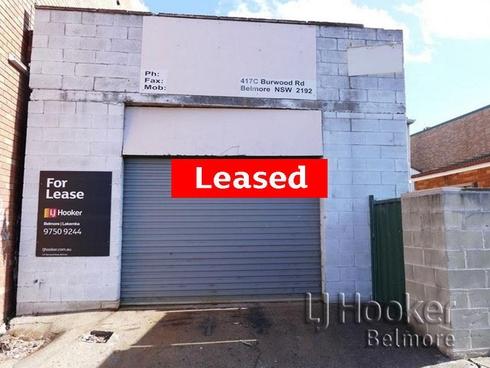 Rear 417 Burwood Road Belmore, NSW 2192