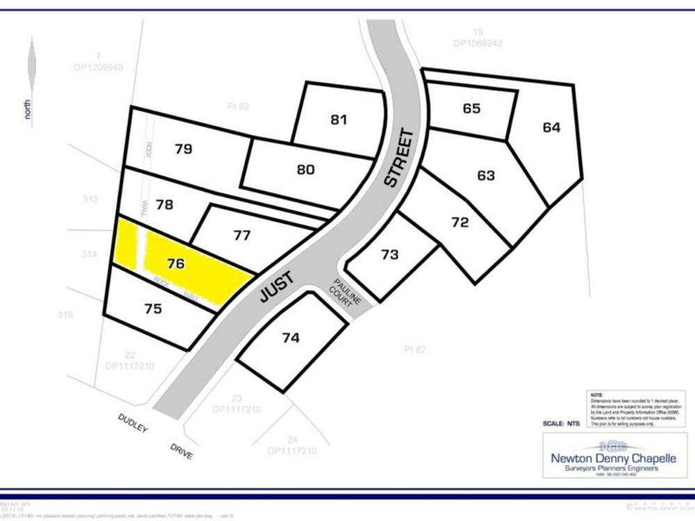 Lot 76 Just Street Goonellabah, NSW 2480