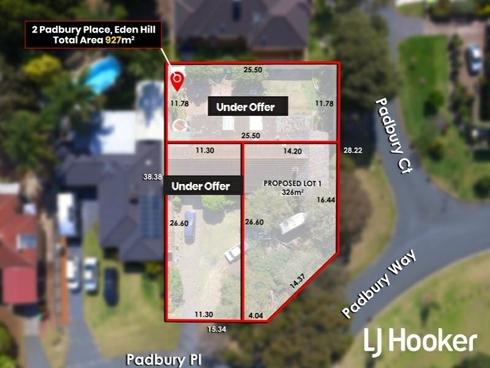 Lot Lot 2/2 Padbury Place Eden Hill, WA 6054