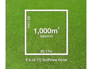 5 (Lot 17) Gulfview Drive Tickera , SA, 5555