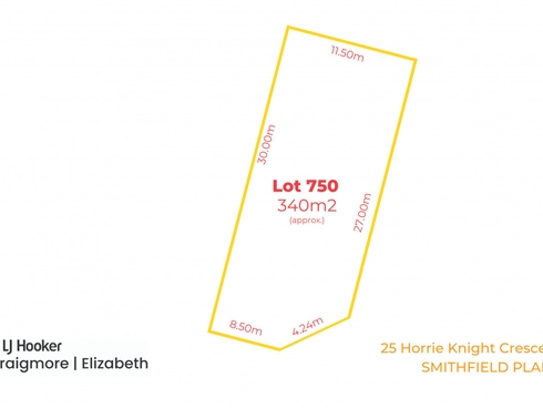 25 Horrie Knight Crescent Smithfield Plains, SA 5114