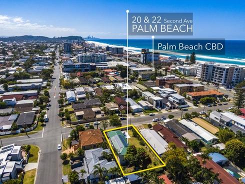 20-22 Second Avenue Palm Beach, QLD 4221