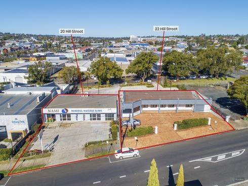 20 & 22 Hill Street Toowoomba City, QLD 4350