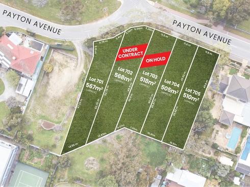 Lot 701,704 & 705/18 Payton Avenue Dernancourt, SA 5075