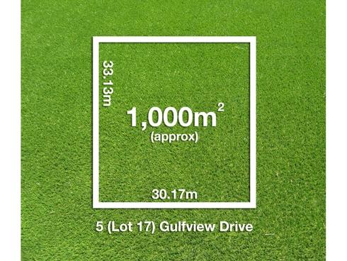 5 (Lot 17) Gulfview Drive Tickera, SA 5555