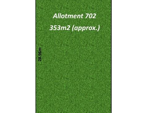 Allotment 702/9 Lytham Place West Lakes, SA 5021