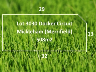 Lot 3030/ Docker Circuit Mickleham , VIC, 3064